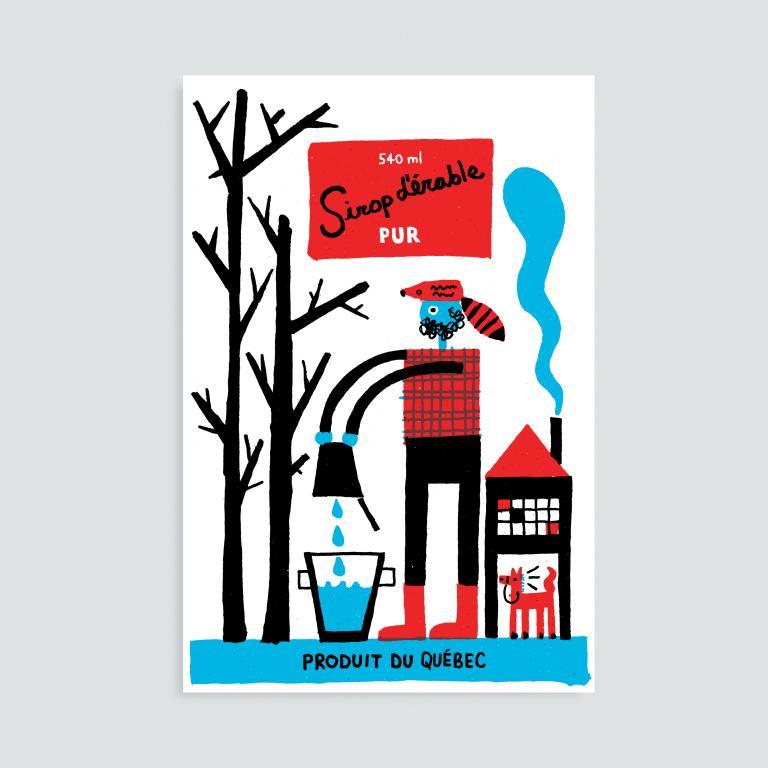 Paperole Images de Montréal Cards and Art Prints — Syrup