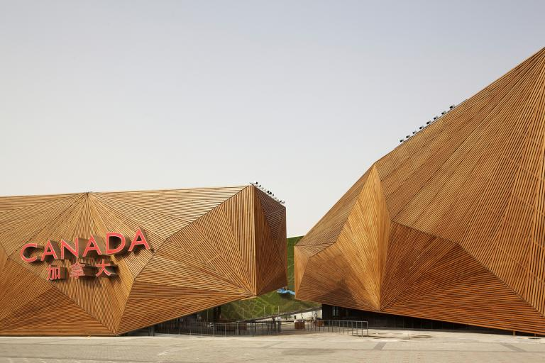 Canada Pavilion, Shanghai Exhibition, Shanghai (China), 2010