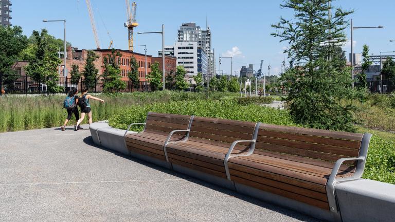Urban Furniture, Projet Bonaventure, Montréal, 2017