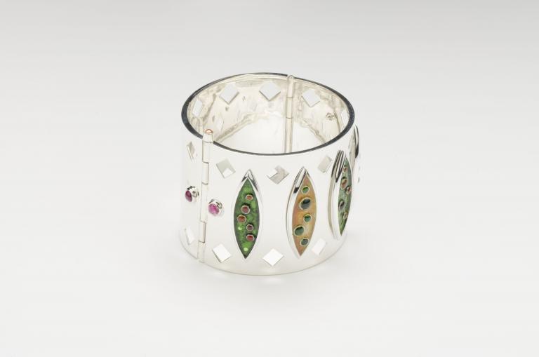 Marquise cuff bracelet