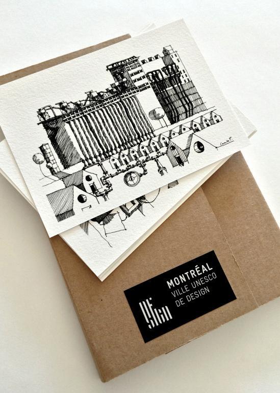 Un Montréal vibrant Sketches
