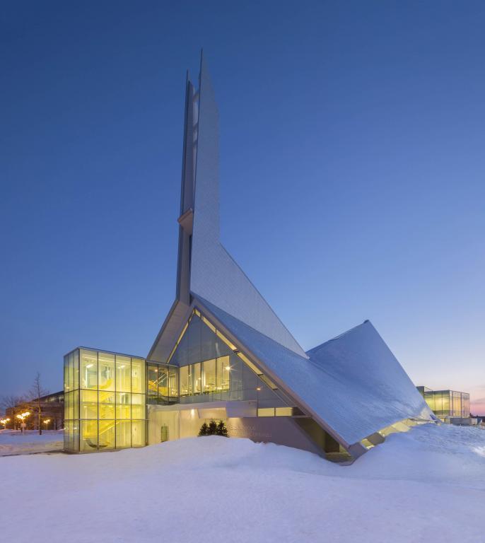 Monique-Corriveau library, Quebec city, 2013
