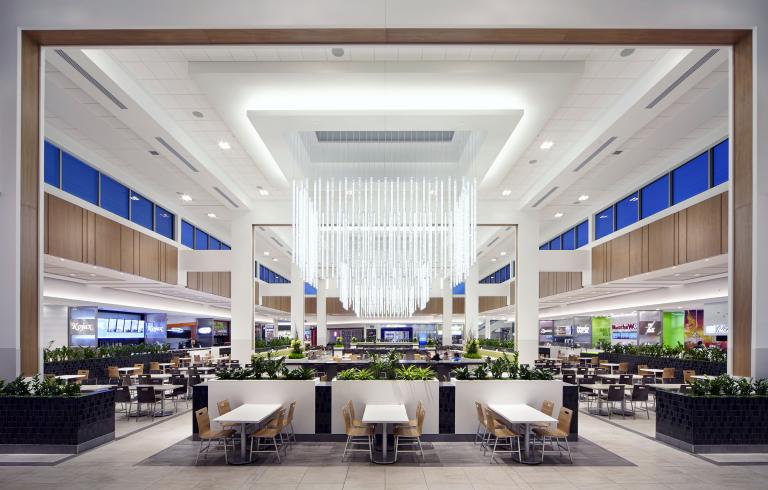 Food Court, Anjou Shopping Center, Anjou, Quebec, 2012