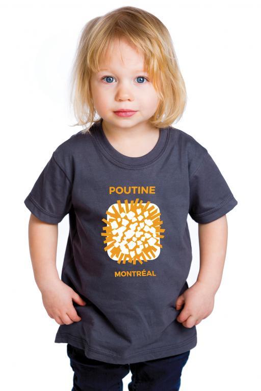 T-shirt Poutine Montréal