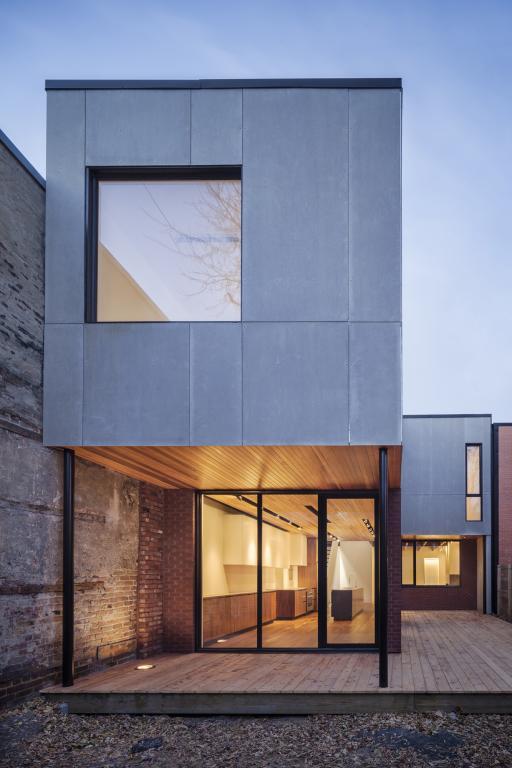 Mentana residence, Montreal, 2013