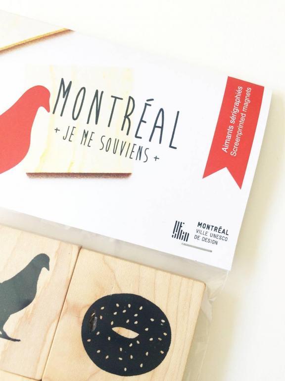 Aimants — Montréal, je me souviens