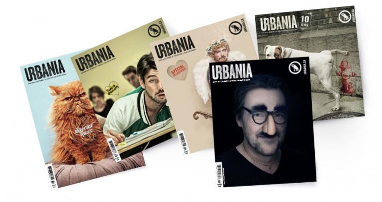 Couvertures de magazines URBANIA
