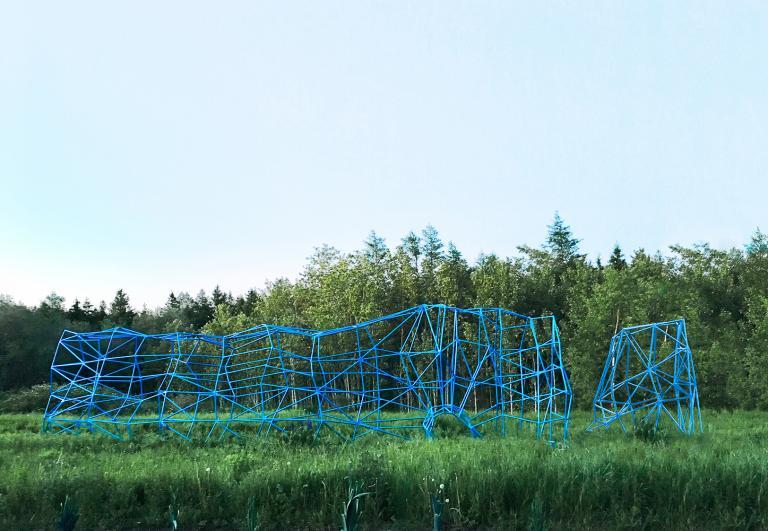 Le Rocher très Percé, Jardins de Métis, Métis-sur-Mer, 2018
