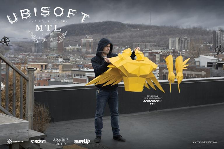 Née pour jouer (Ubisoft), Montréal, 2015