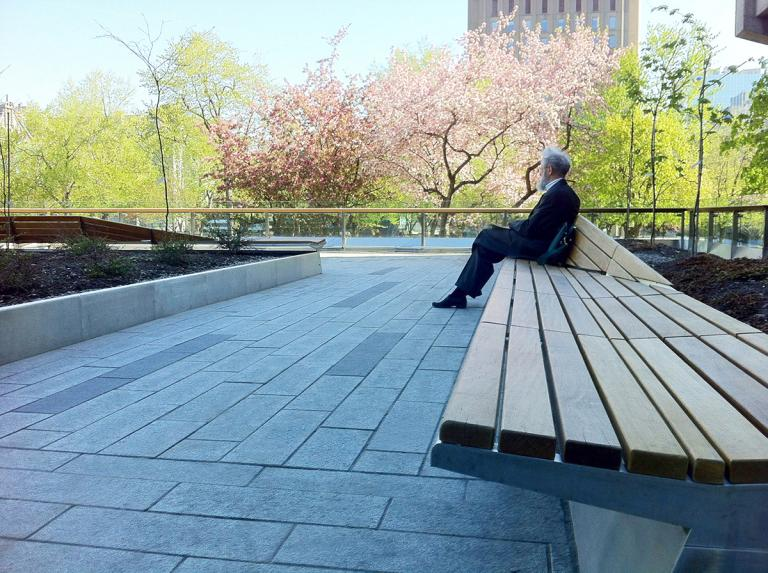 Terrasses des bibliothèques, Université McGill, Montréal, 2014