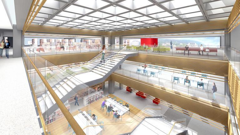 Plan directeur, bibliothèques, Université McGill, Montréal, 2015
