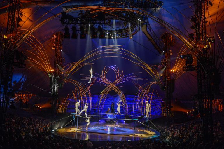Cirque du Soleil, Amaluna, Tournée Mondiale, 2012
