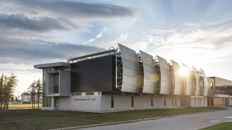 Pavillon Alouette-UQAC, Sept-Îles, 2014