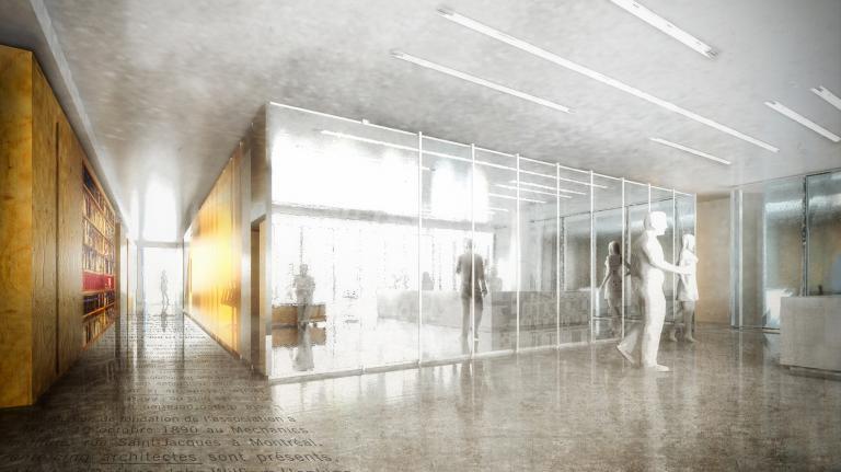 Ordre des Architectes du Québec, siège social, Montréal, 2013