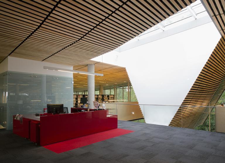 Du Boisé library, Montreal, 2013