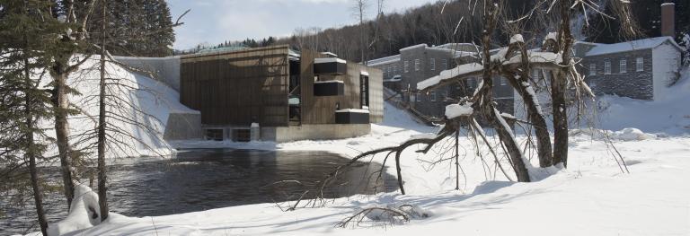 Val-Jalbert hydroelectric power plant, Val-Jalbert, Québec, 2011