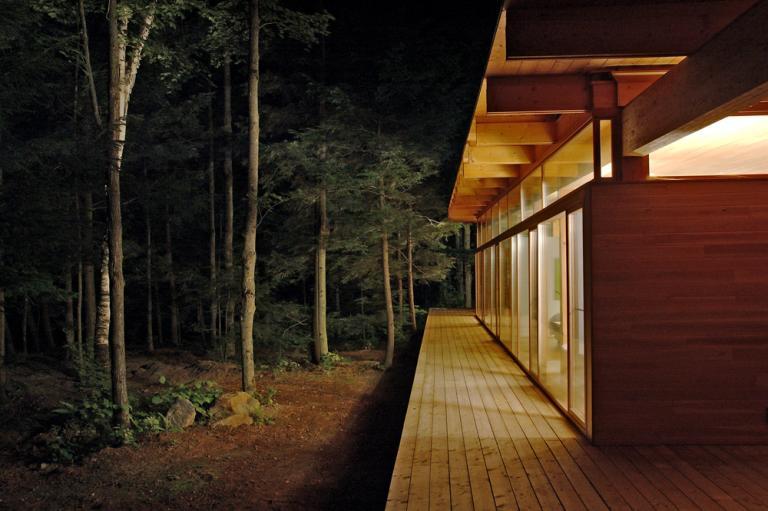 Les Abouts house, Les Bois Francs, Québec, 2005