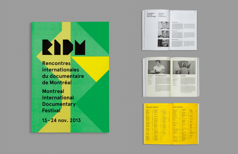 RIDM, Montreal, Campaign 2013