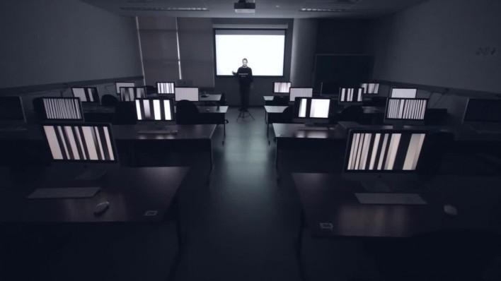 (glitch) Musique pour une classe d'informatique, 2013