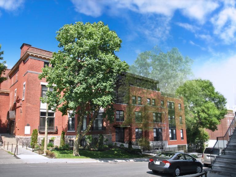 Résidence DuMusée, Montréal, 2014