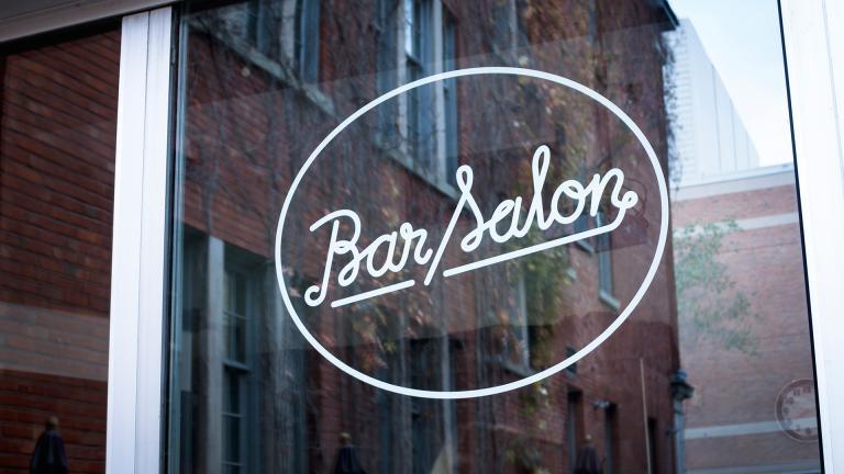 Cinémathèque québécoise, Bar Salon branding, 2014