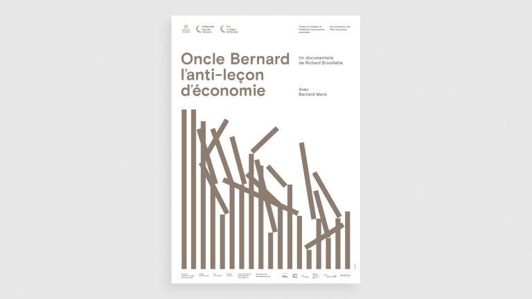 Les films du passeur, Oncle Bernard poster, 2015