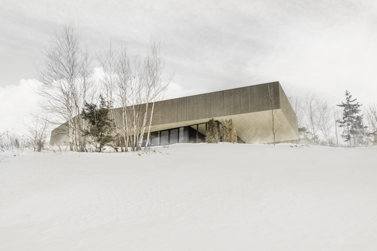 Roy-Lawrence residence, Sutton, Quebec, 2014