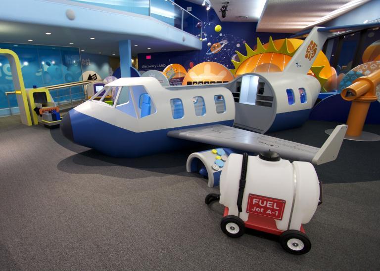 Discoveryland, espace de découvertes scientifiques pour jeunes enfants, Edmonton, 2012