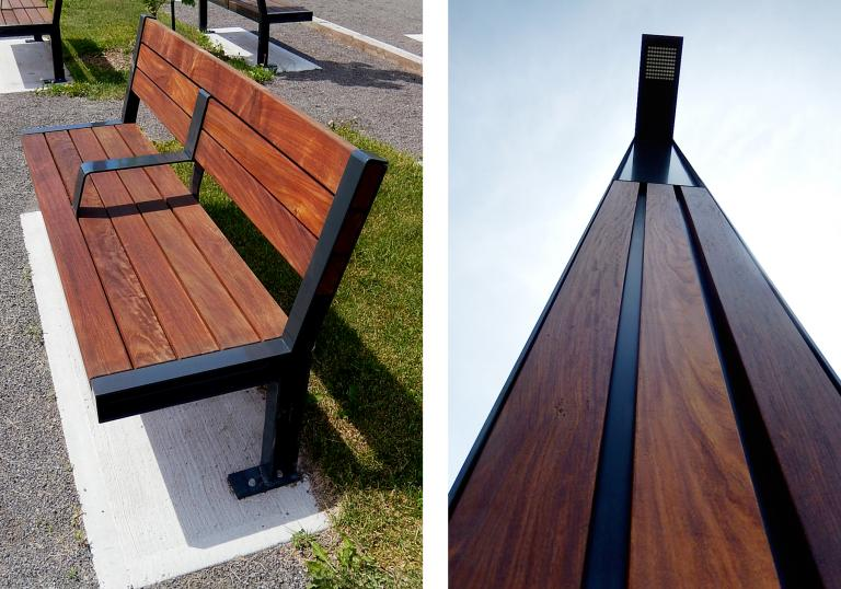 Delson City Urban Furniture , Delson, Quebec, 2013