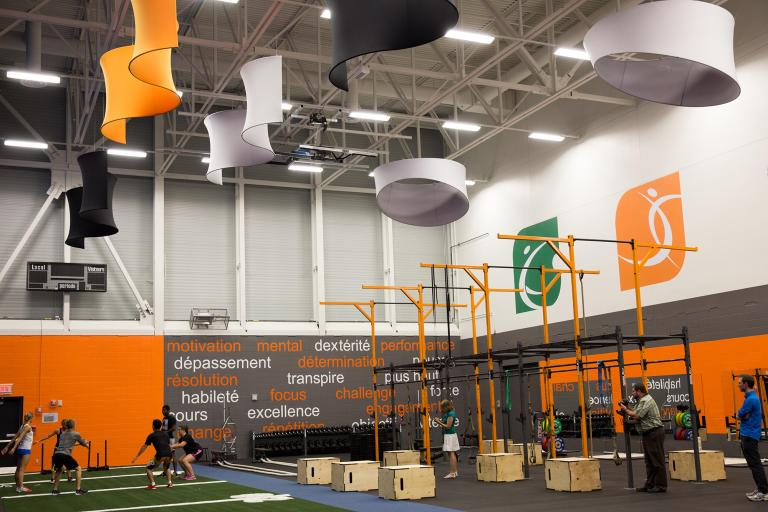 Multisports center in Vaudreuil Dorion, Quebec, 2015