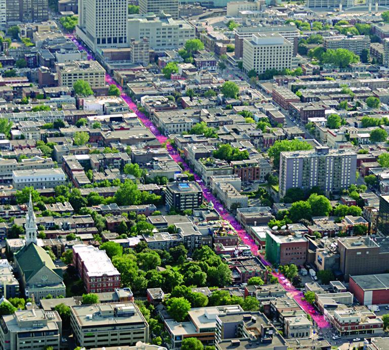 Les boules roses, Montréal, 2011-2016