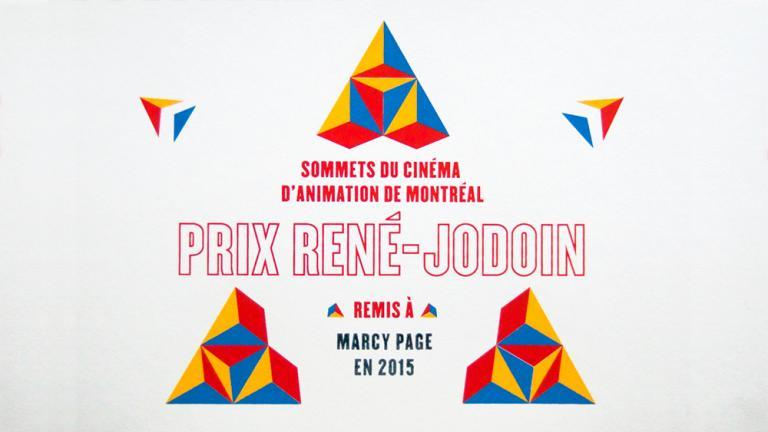 Prix René-Jodoin, Montréal, 2015