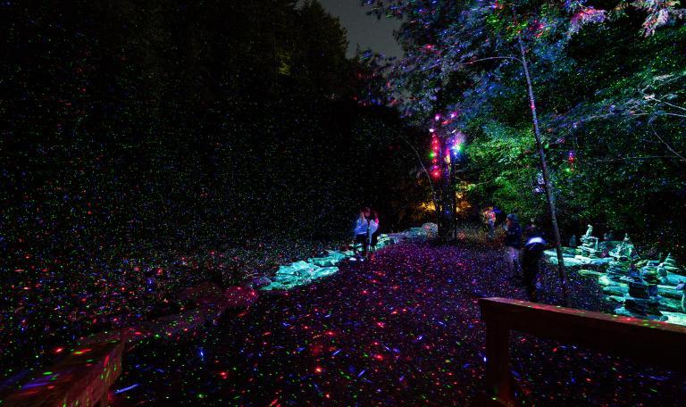 Foresta Lumina, Coaticook, Quebec, 2014