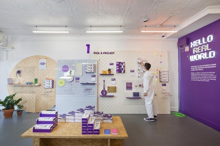 littleBits Pop-up Shop, New-York, 2015