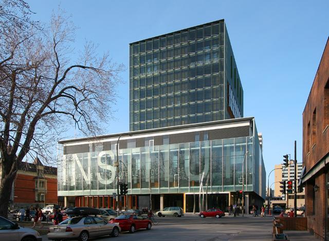 Institut de tourisme et d'hôtellerie du Québec (ITHQ), Montréal, 2004