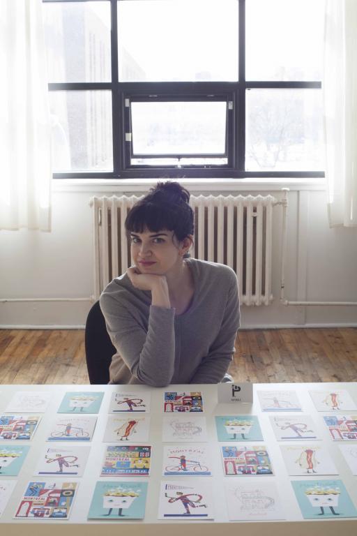 Jacinthe Pilote, éditrice de Paperole, Montréal, 2014