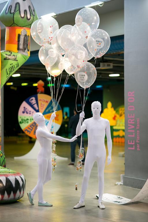 Les créatures de la fête, Centre George Pompidou, Paris, 2015