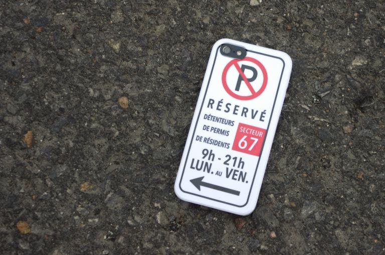 Étui Stationnement interdit, Montreal, 2015