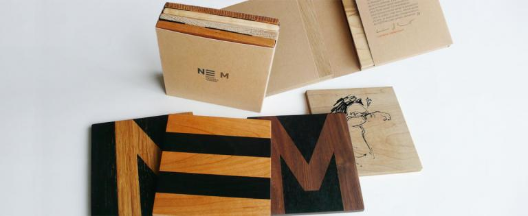 Coasters, Promotional Item for Le NEM, Montreal, 2013