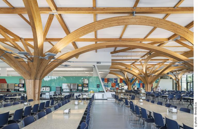 Curtiss kitchen and dining hall , Borden, Ontario, 2015