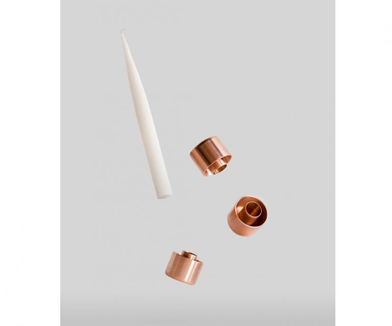 Copper Candle Holders, 2015