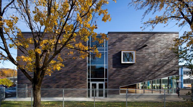 René-Guénette school expansion, Montreal, 2013