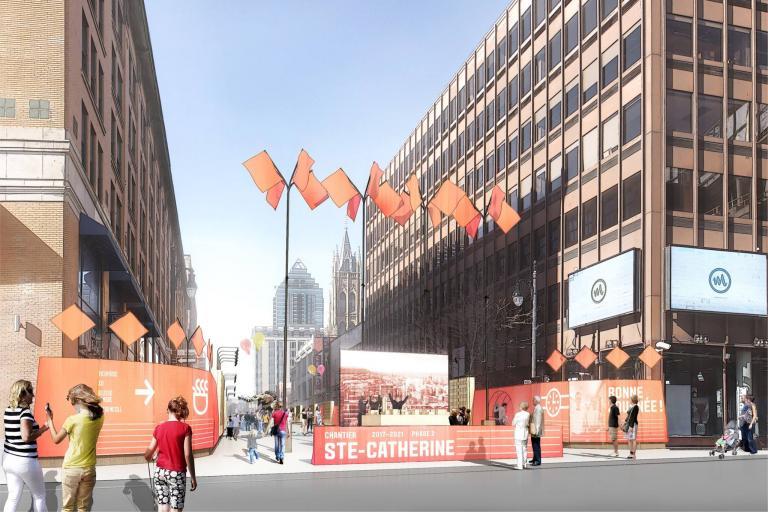 Conception des technologies, Vivre le chantier Ste-Cath!, Montréal, 2016