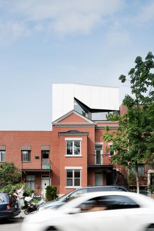 Waverly houses, Plateau-Mont-Royal, 2014
