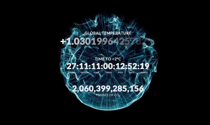 Carbon Clock, Montreal, 2015