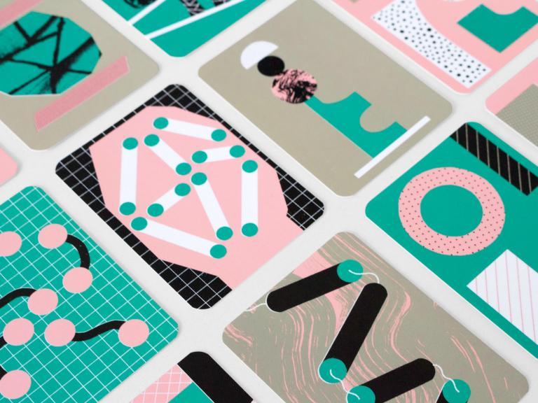 Cartes illustrées réalisées pour Microfiches en collaboration avec l'échoFab