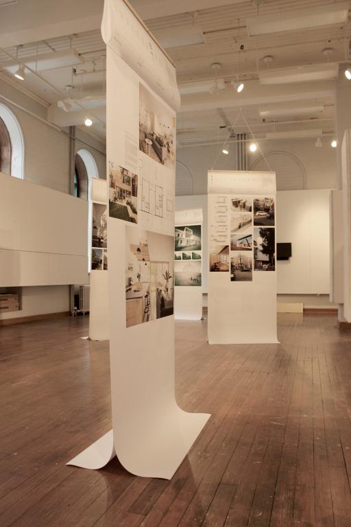 Conception de l'exposition Plateau 2.0, Montréal, 2016