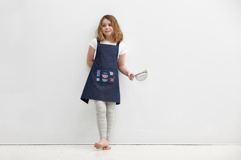 Children's apron, Montreal, 2016