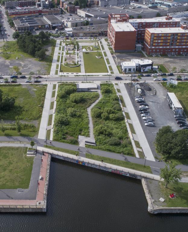 Bassin-à-gravier, Les Bassins du Nouveau Havre, Montréal, 2016