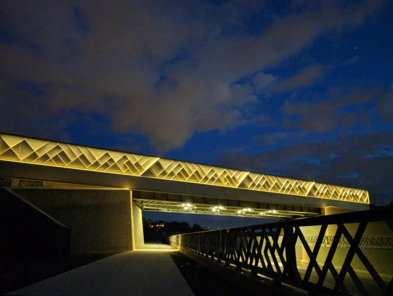 Railway Bridge, MIL campus, Université de Montréal, 2016